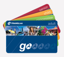 various Translink go card